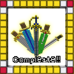 けんがそろった! achievement for 3D Dot Game Heroes on PlayStation 3