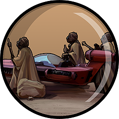 Icon for Sand People are easily startled