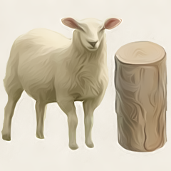 Sheep For Wood