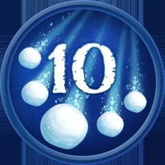 10 Snowballs