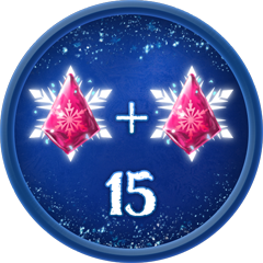 15 Double Iceberg