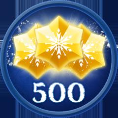 Obtain 500 Stars