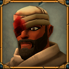 Kheti, Capitán de Medjay Veterano