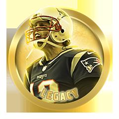 Tom Brady Legacy Award Trophy in Madden NFL 19
