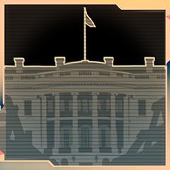 Ich bin wieder da, Weißes Haus!