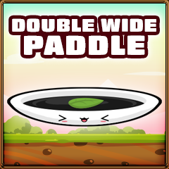 Double wide paddle collected