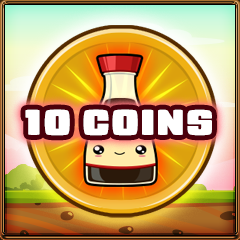 10 coins collected