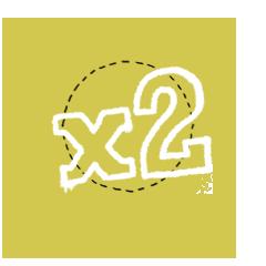 2X Multiplier!