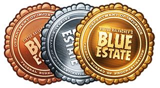Трофеи и призы Blue Estate