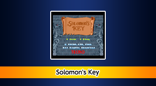 Трофеи игры Arcade Archives: Solomon's Key